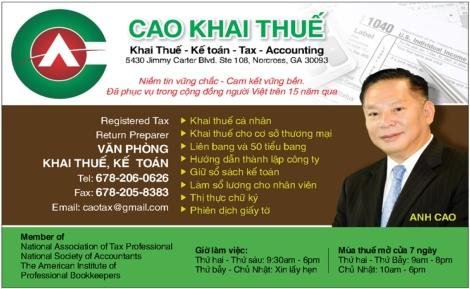 Cao Khai Thue