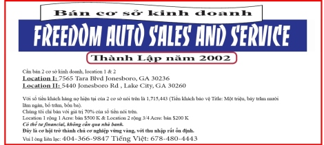 Freedom Auto For Sale