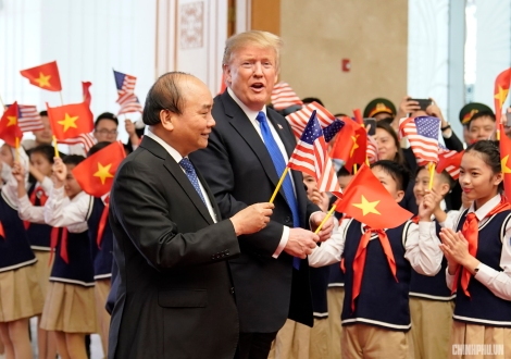 Trump and Phuc